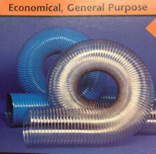 4-1/2''Id Cvd Clear Pvc Hose/Ducting With Wire Helix, 50 Ft