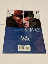 Civil War X-Men #1 September 2006 Marvel Comics Layman Hine Paquette