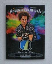 2018 Goodwin Champions Splash of Color Memorabilia Kyle Troup relic