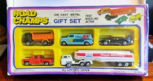 JRI Inc. No.9002 Road Champs Gift Set 1981 MIB similar Matchbox