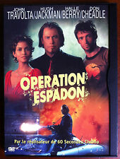 (H14)DVD - OPERATION ESPADON - Travolta, Jackman, Halle Berry, Cheadle