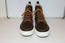 New Converse Chuck Taylor Brown Leather High Top Men's Size 13