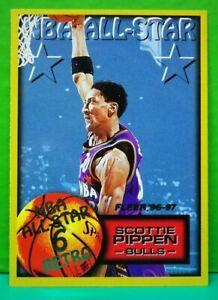 Scottie Pippen subset card All-Star 1996-97 Fleer #287