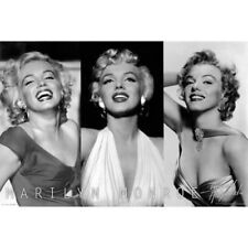 Marilyn Monroe 3 pictures Wall Poster Art 24x36 Free Shipping
