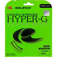 Solinco HYPER-G 18g + Babolat Synthetic Gut 16g Hybrid String 40' (Free Express)