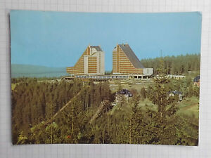 AK Oberhof Interhotel Panorama Ansichtskarte DDR 1973 gelaufen