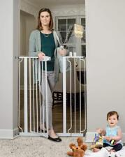 Regalo Easy Step Extra Tall Walk Thru Gate, White Baby Pet Safety 3DAYSHIP