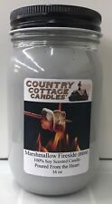 16 oz Soy Candle Marshmallow Fireside.Bath & Body Works FREE SHIPPING