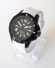 Lacoste Herren Uhr Fidji schwarz weiß Silikon 2010713