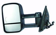 Fits 2007 - 2014 - Chevy SILVERADO 2500 HD Door Mirror - Driver (Textured)