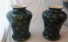 Ernst Wahliss Secessionist style pair of large vases