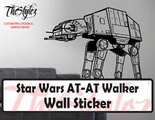 Star Wars AT AT Walker II Action Oversize Wall Vinyl Sticker