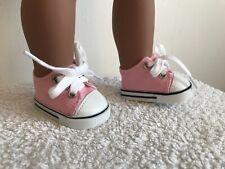 """18"""" Pouces poupée fille rose d'été baskets American Girl notre génération"""