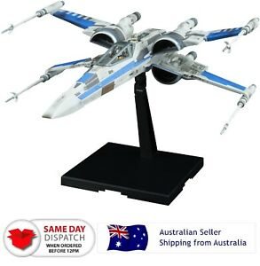 Star Wars Blue Squadron Resistance X-Wing Fighter The Last Jedi 1/72 Scale Model