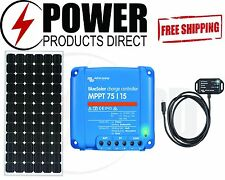 12/24V 200W Solar Panel & Victron 75/15 MPPT Solar Controller & Bluetooth Dongle