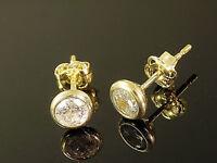 333 Gold  Ohrstecker 1 Paar 5 mm Grösse Kelchstecker mit  Zirkonia Steinen