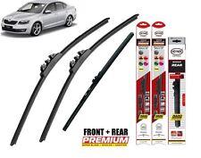 "Skoda Octavia Hatchback 2004-2013 full set windscreen wiper blades 24""19""16"""