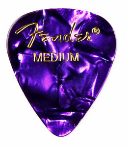 Purple Guitar Pick Lapel Pin - QHG2