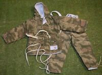 1/6 SCALE MARSH PATTERN SMOCK TROUSERS FOR DRAGON DREAMS DID WW II GERMAN - 2