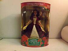 Holiday Princess Disney Barbie Doll Beauty & The Beast Belle Enchanted Christmas