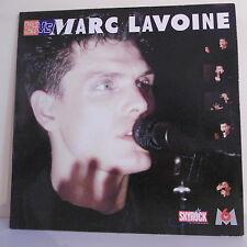 """33 tours Marc LAVOINE Disque Vinyle LP 12"""" LIVE Skyrock M6 - POLYGRAM 836650-1"""