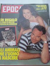 EPOCA_sett 1983_CARLO VERDONE_NATASHA HOVEY_OLINKA_CARL LEWIS_DALI'