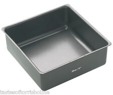 Masterclass Professional Large 12 Inch / 30cm Square Deep Non Stick Cake Tin