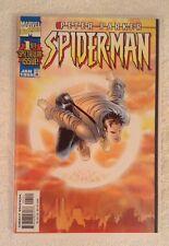 PETER PARKER SPIDER MAN #1 SUNBURST VARIANT JAN 1999 NM+ 9.6 or better L@@K!