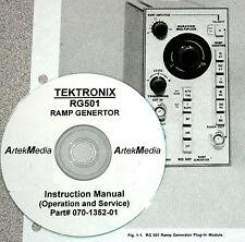 TEK RG501 Ramp Gen. Instruction (Ops/Service) Manual