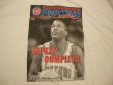 NBA Detroit Pistons Basketball Joe Dumars Magazine Screen Print T Shirt XL