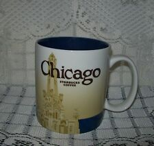 LARGE 2012 STARBUCKS CHICAGO COFFEE CUP 473ml/16fl oz