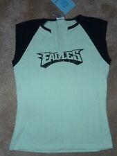 NEW NFL Philadelphia Eagles Juniors T Shirt Women Ladies L Large Mint Green NWT