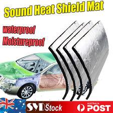 Adhesive Sound Deadener Auto SUV Mat Heat Shield Insulation Absorption 2.6m2 OZ