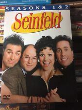 Seinfeld Seasons 1 and 2 DVD 2004 4 Disc Set