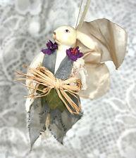 Wayne M Kleski Rabbit Bunny Ballerina w Wings Fairy Doll Ornament Resin
