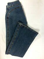 Silver Jeans Womens Vintage Low Rise Flare Leg Size 28/31 Medium Wash