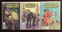 Power Man and Iron Fist #1-16 + Annual Run Lot Complete Series Marvel