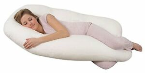 NEW Leachco Back N Belly Contoured Body Pillow Ivory FREE SHIPPING baby newborn