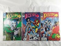 EXLIPSO Comic Books #1 #6 #13 1992 1993 DC