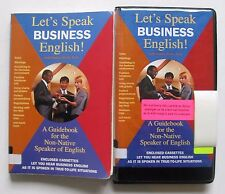 Lets Speak Business English Guidebook for the Non-Native Speaker book + 2 tapes