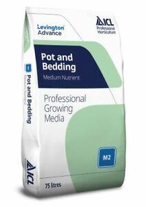 Levington Advance  Peat Reduced Professional Pot & Bedding M2 Compost 75lt