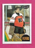 1987-88 OPC # 169 FLYERS RON HEXTALL  ROOKIE NRMT+ CARD (INV# D6047)