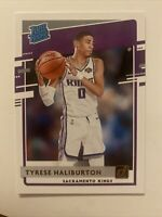 2020-21 Tyrese Haliburton RC Donruss Rated Rookie Sacramento Kings Nm-Mint