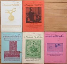 American Philatelist Magazine -1963, Volume 76/77, Jul, Aug, Sep, Oct, Nov