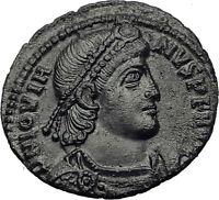 JOVIAN 363AD Sirmium Wreath Authentic Genuine Original Ancient Roman Coin i63282