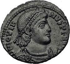 JOVIAN 363AD Sirmium Wreath Authentic Genuine Original Ancient Roman Coin i63282