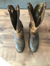 Double H UltraGel Ice Buckaroo DH5159 Leather Cowboy Boots USA Women's 7.5 M