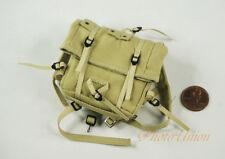 1:6 Action Figure Military WW2 US Military Airborne Backpack Jump Bag DA321