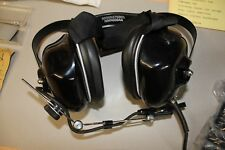 US ARMY Motorola nmn6064a PILOTES CASQUE AVIATION Low noise 24 Décibel