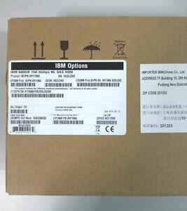 IBM  49Y1866 49Y1870 49Y1869 IBM 600GB 15K 3.5'' 6GBPS HS LFF SAS HARD DRIVE